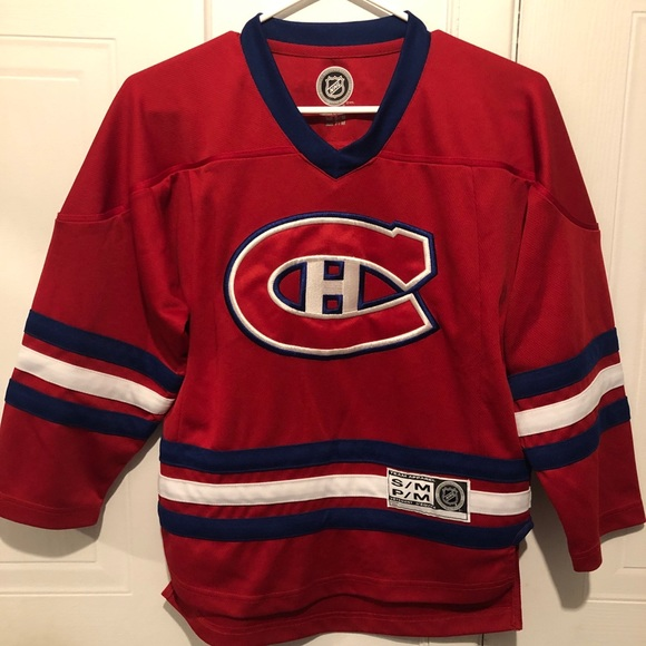 Canadiens Habs official kids jersey